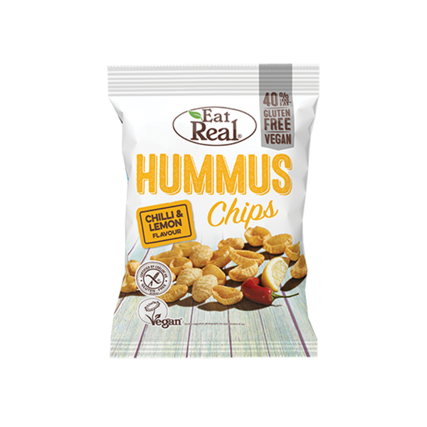 EAT REAL Hummus Chilli Lemon Chips 135g - Longdan Online Supermarket