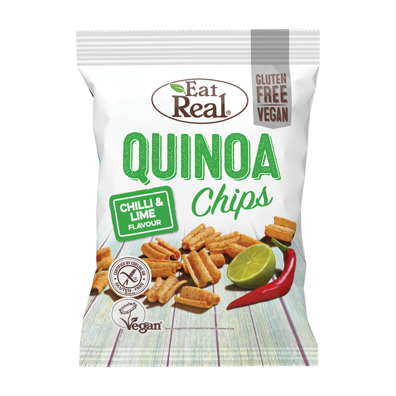EAT REAL Quinoa Chilli & Lime Chips 30g - Longdan Online Supermarket