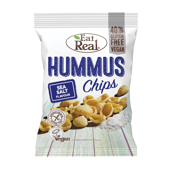 EAT REAL Hummus Sea Salted Chips 45g