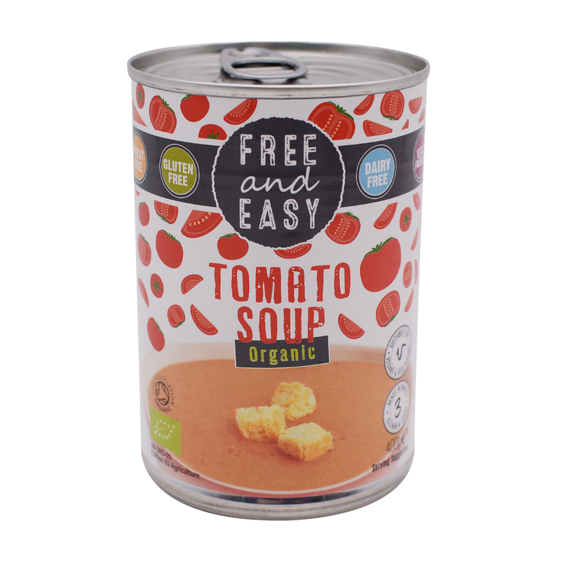 Free and Easy Organic Tomato Soup 400g - Longdan Online Supermarket