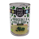 Free and Easy Organic Broccoli & Kale 400g - Longdan Online Supermarket
