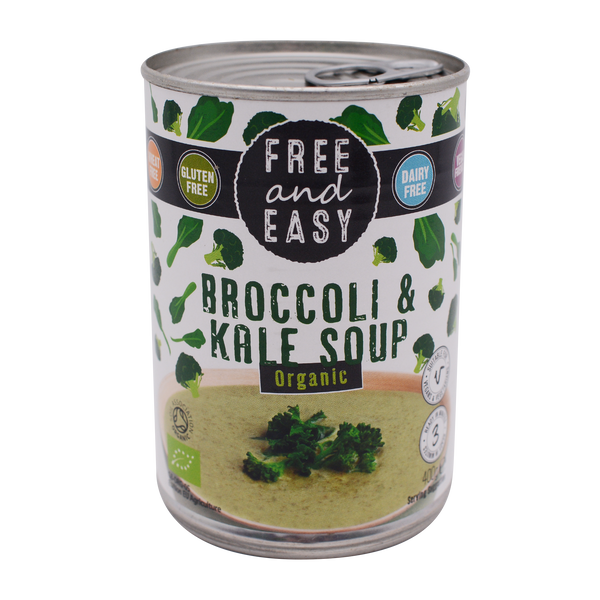 Free and Easy Organic Broccoli & Kale 400g - Longdan Offical Online Store - UK Cash & Carry