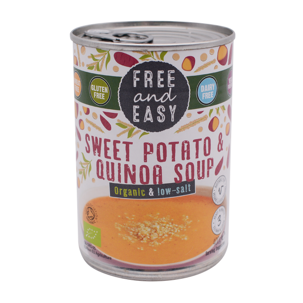 Free and Easy Organic Sweet Potato & Quinoa 400g - Longdan Offical Online Store - UK Cash & Carry