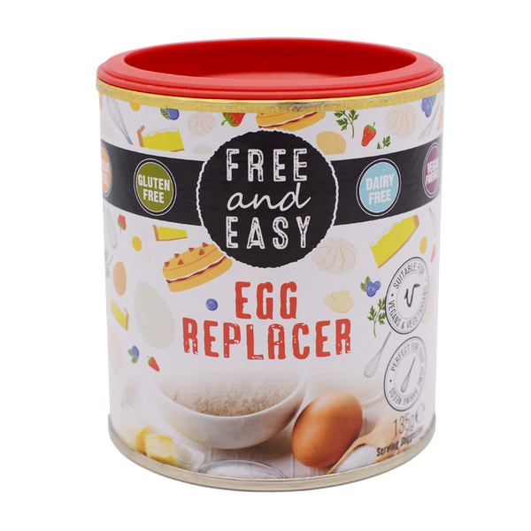 Free and Easy Organic Vegan Egg Replacer 135g - Longdan Offical Online Store - UK Cash & Carry