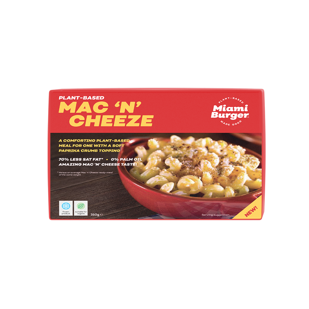 Miami Burger Mac & Cheese 350g (Frozen) - Longdan Online Supermarket