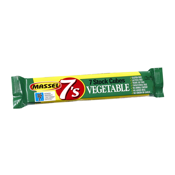 MASSEL  7's Cubes Vegetable 35g - Longdan Official Online Store