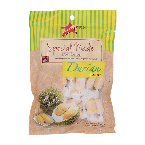 Ban Hock Durian Candy 150g - Longdan Offical Online Store - UK Cash & Carry