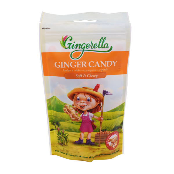 Gingerella Ginger Chewy Candy Original 85g - Longdan Offical Online Store - UK Cash & Carry
