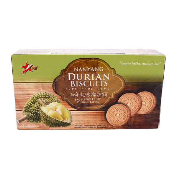 Banhock Nanyang Durian Biscuit 200g - Longdan Offical Online Store - UK Cash & Carry