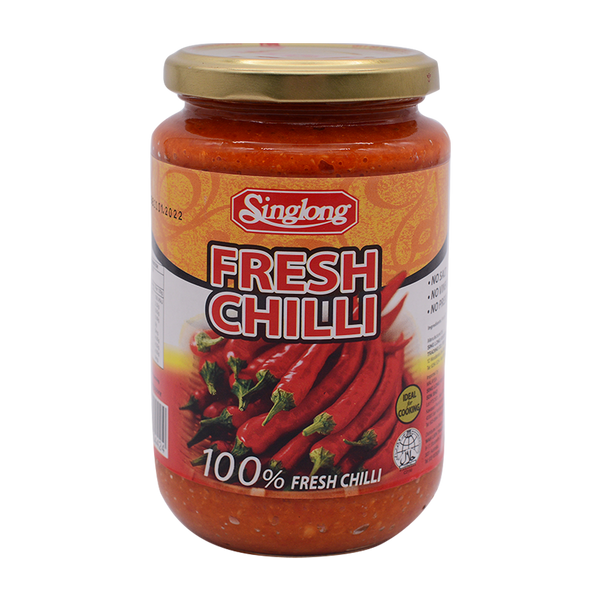 Sing Long Fresh Chilli 340g - Longdan Online Supermarket