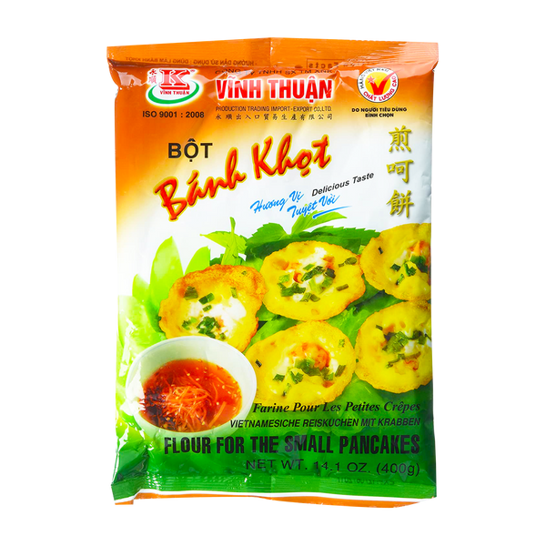 Vinh Thuan Flour for Small Pancake 400g - Longdan Official Online Store