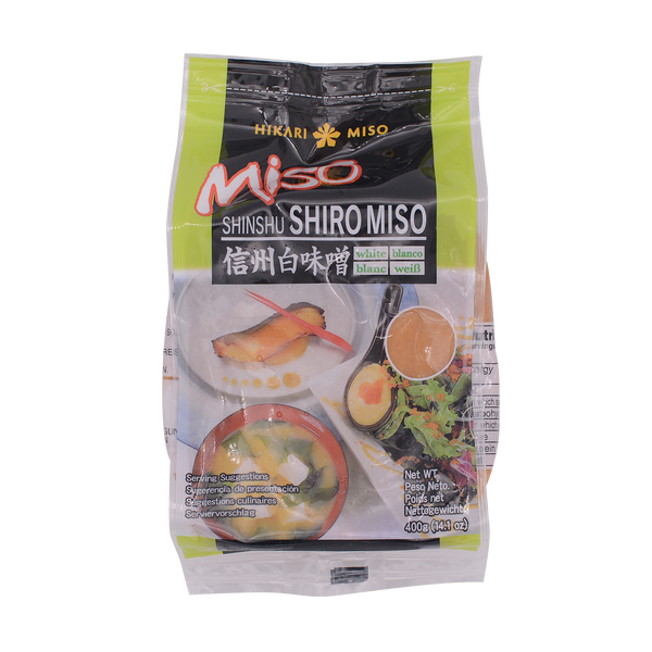 Hikari Miso Shinshu Miso Paste White 400g - Longdan Offical Online Store - UK Cash & Carry