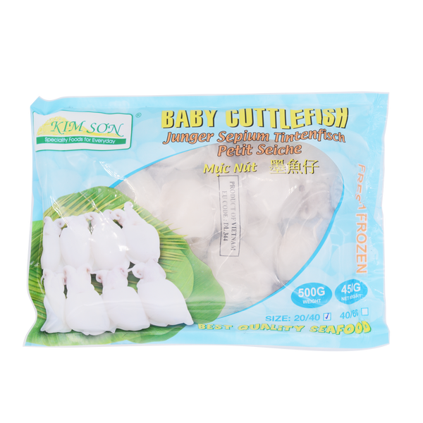 Kim Son Baby Cuttlefish 20/40 500g - Longdan Offical Online Store - UK Cash & Carry