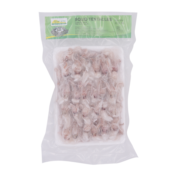 Kim Son Squid Tentacles IQF 500g - Longdan Offical Online Store - UK Cash & Carry