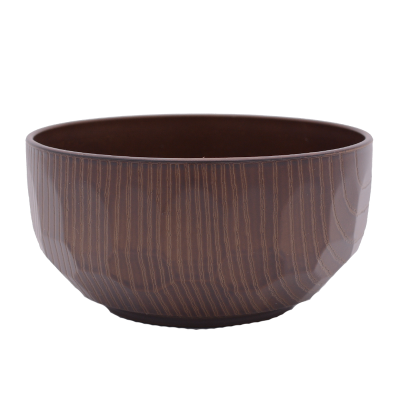 Josho Wood Grain Bowl Turtle Shell Medium - Longdan Online Supermarket