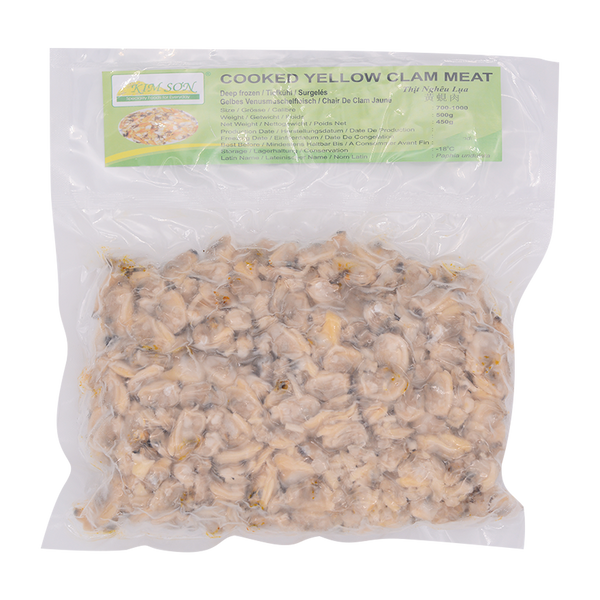 Kim Son Cooked Yellow Clam (700-1000) 500g (Frozen) - Longdan Online Supermarket