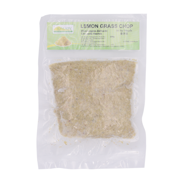 Kim Son Lemon Grass Chop/Minced 200g (Frozen) - Longdan Online Supermarket