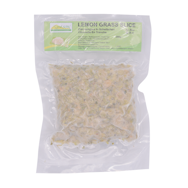 Kim Son Lemon Grass Slice 200g (Frozen) - Longdan Online Supermarket