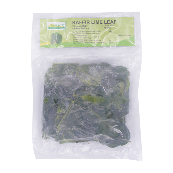 Kaffir Lime Leaves 100g (Frozen) - Longdan Online Supermarket