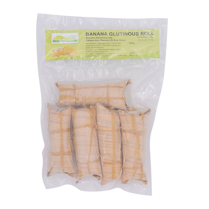 Banana Glutinous Roll 500g - Longdan Offical Online Store - UK Cash & Carry