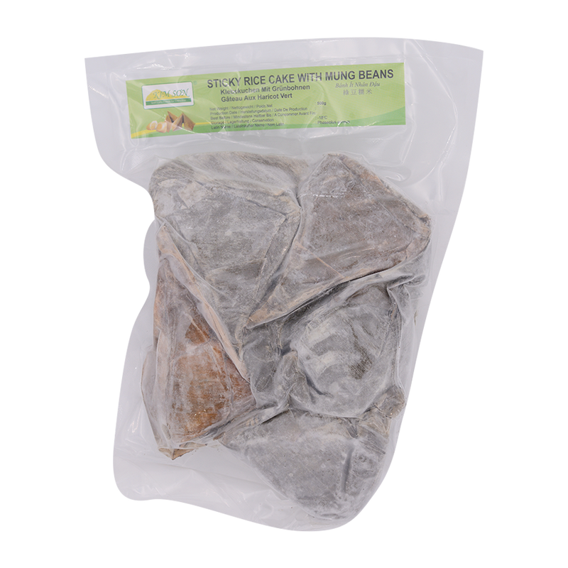 Sticky Rice Cake with Mung Beans 500g (Frozen) - Longdan Online Supermarket