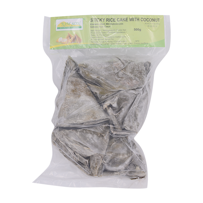 Sticky Rice Cake with Shredded Coconut 500g - Longdan Offical Online Store - UK Cash & Carry