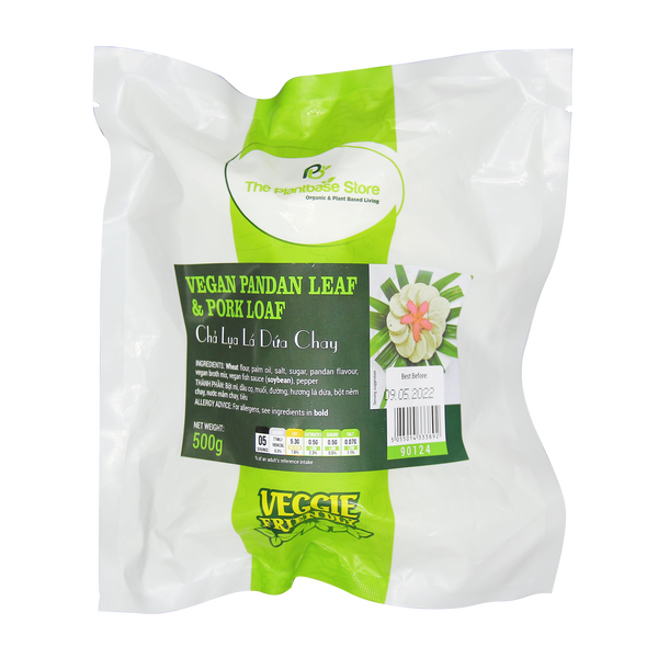 The Plantbase Store Vegan Pandan Leaf & Pork Loaf 500g - Longdan Offical Online Store - UK Cash & Carry