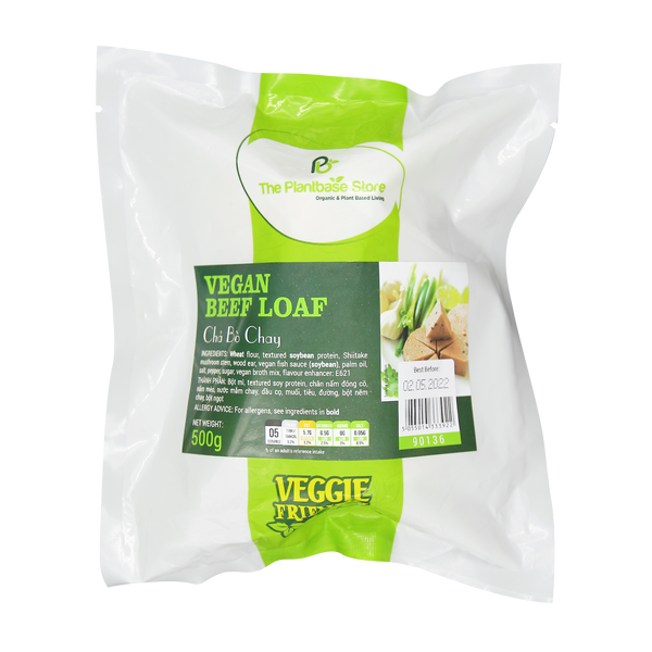 The Plantbase Store Vegan Beef Loaf 500g - Longdan Offical Online Store - UK Cash & Carry