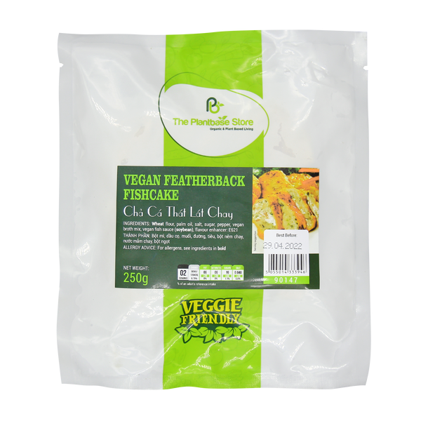 The Plantbase Store Vegan Featherback Fishcake 250g - Longdan Offical Online Store - UK Cash & Carry