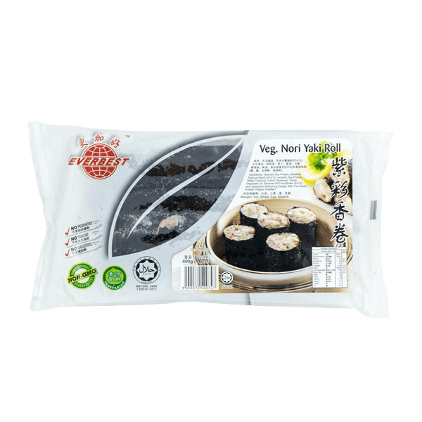 Everbest Vegetarian Nori Yaki Roll 400g - Longdan Offical Online Store - UK Cash & Carry