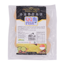 QQ Frozen Fried Fish Cake 250g - Longdan Offical Online Store - UK Cash & Carry