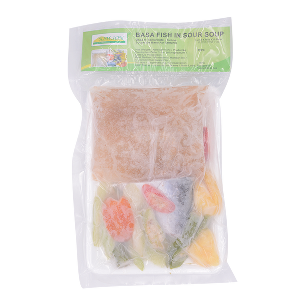 Basa Fish in Sour Soup 500g (Frozen) - Longdan Online Supermarket