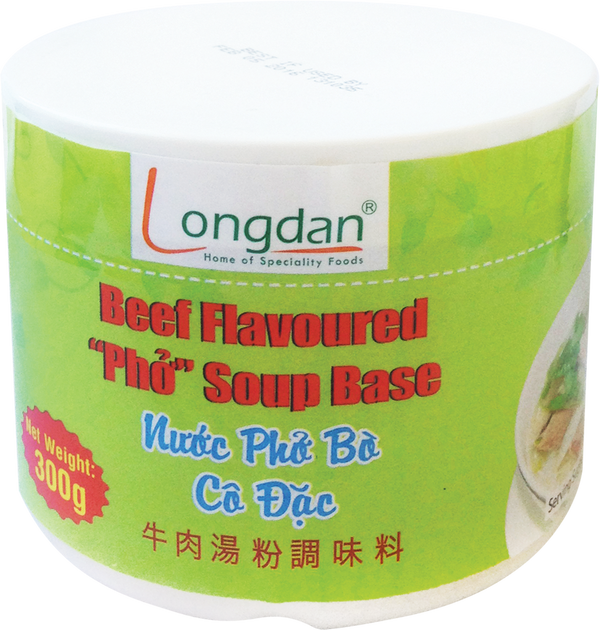 Longdan Beef Flav: Pho Soup Base 300g - Longdan Offical Online Store - UK Cash & Carry