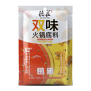DEZHUANG Double Flavor Hot Pot Base Spicy & Porcini Mushroom 300G - Longdan Online Supermarket