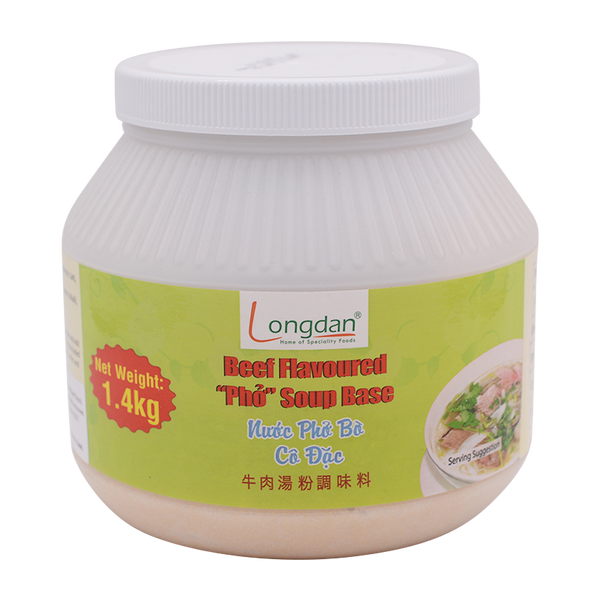 Longdan Beef Flav: Pho Soup Base 1.4kg - Longdan Offical Online Store - UK Cash & Carry