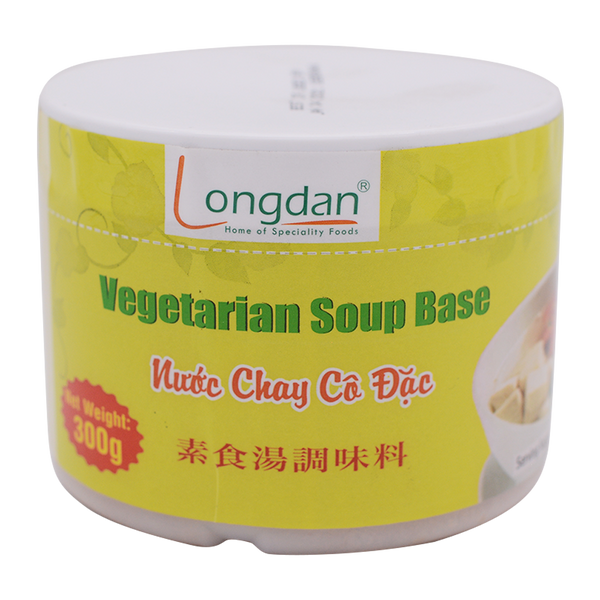 Longdan Vegetarian Soup Base 300g - Longdan Offical Online Store - UK Cash & Carry