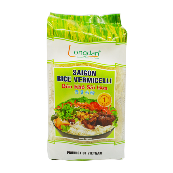 Longdan Saigon Rice Vermicelli 1mm 400g - Longdan Offical Online Store - UK Cash & Carry