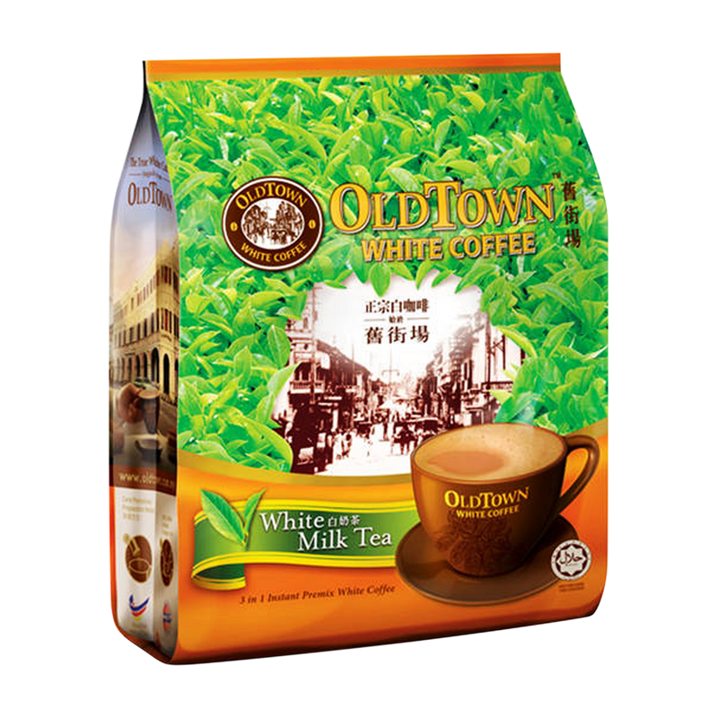 Old Town White Milk Tea 12x40g - Longdan Offical Online Store - UK Cash & Carry