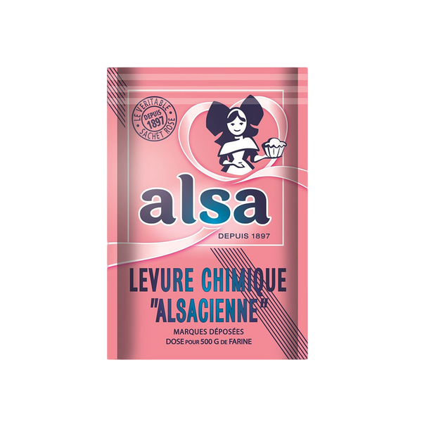ALSA Baking Powder Sachets x8 88G