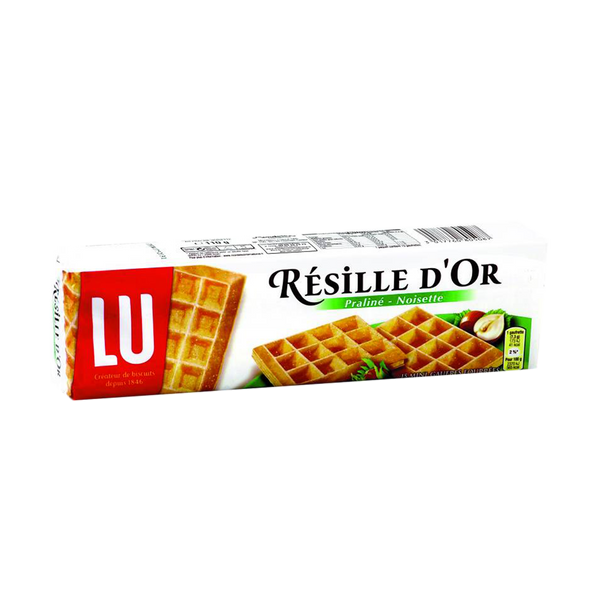 LUFilled Wafers Praline & Hazelnuts 110G