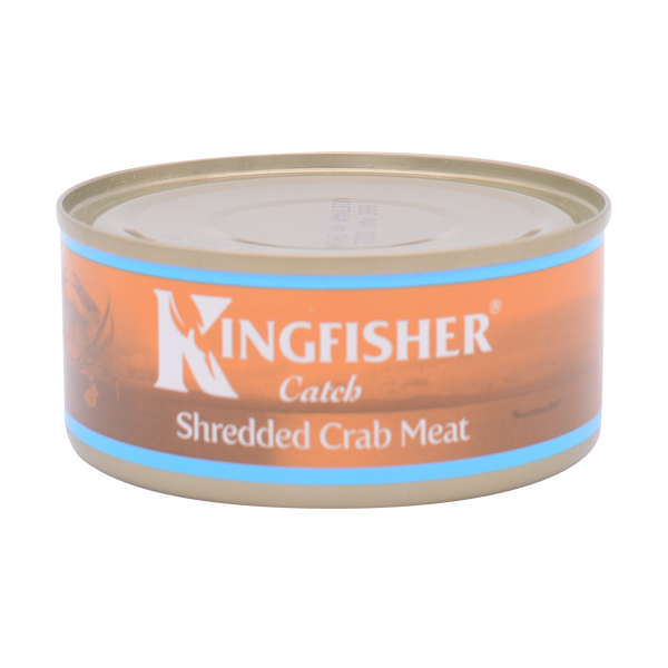 Kingfisher Shredded Crab Meat In Brine 145g - Longdan Online Supermarket