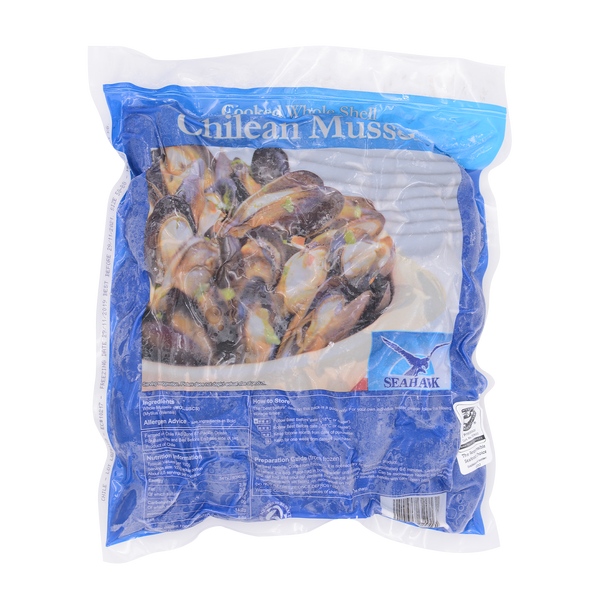 Chilean Wholeshell Mussel 50/80 1kg - Longdan Offical Online Store - UK Cash & Carry