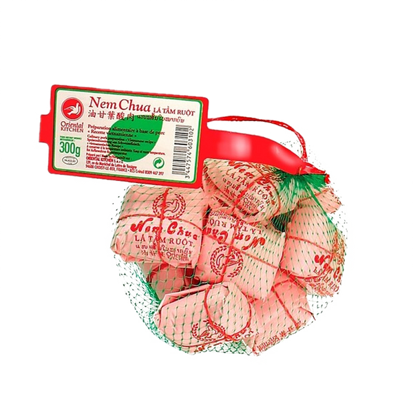 Oriental Kitchen Frozen Pork Based Dish Leaf (Nem Chua) 300g (Frozen) - Longdan Online Supermarket