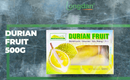 Durian Fruit 500g (Frozen) - Longdan Online Supermarket
