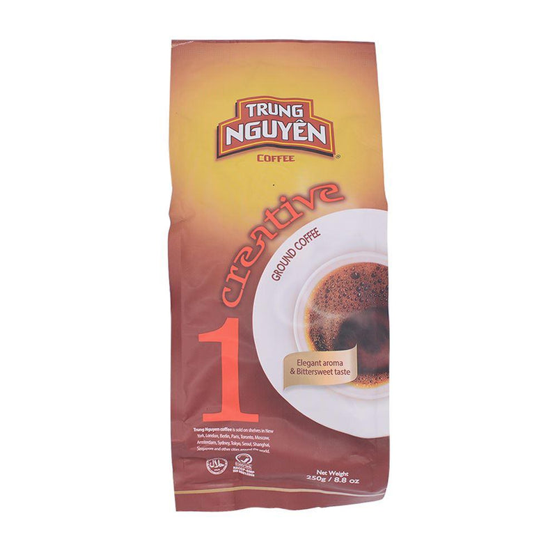 Trung Nguyen Creative 1 Ground Coffee 250g - Longdan Offical Online Store - UK Cash & Carry