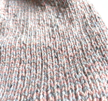 Load image into Gallery viewer, besser. stripe beanie rose & ozone