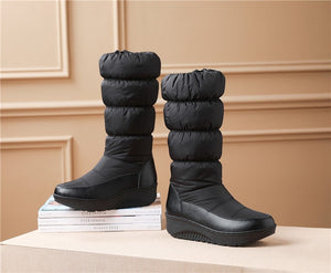 Winter Side Zip - Mid Calf