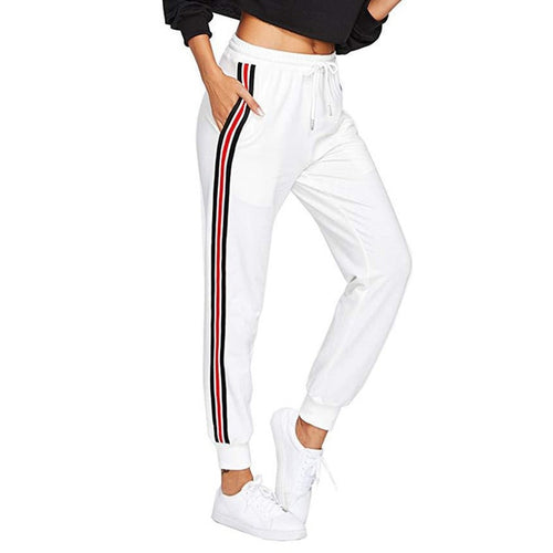 Striped Sweats - Sweatpants