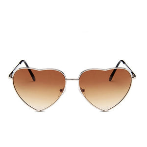 Heart Frame Sunglasses - Auto Darkening