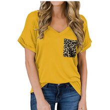 Load image into Gallery viewer, Sassy Leopard Pocket - Tee